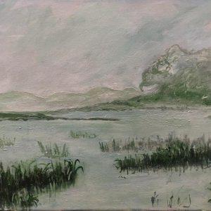 Goose River on a misty spring morning