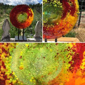 summer solstice glass art
