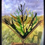 kiln fired glass art