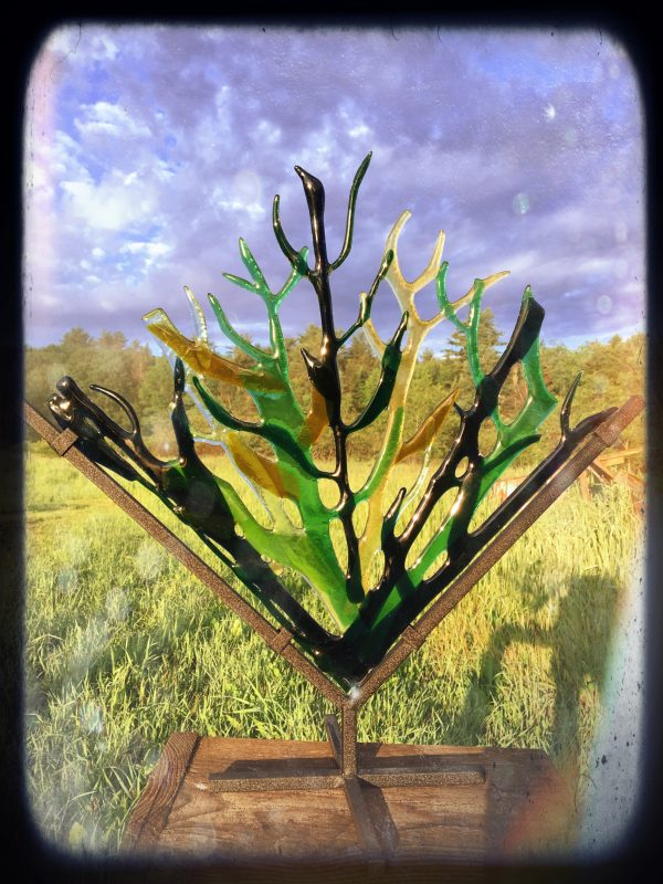 kiln fired glass art