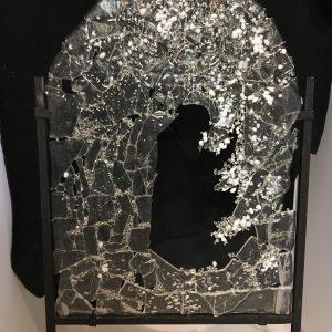 Glass Wave Art Piec