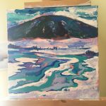 Meadow Brook Painting in progress